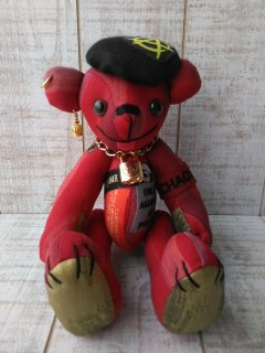 【B-type】25th Special ANARCHY BEAR/RED(25cmテディベア)