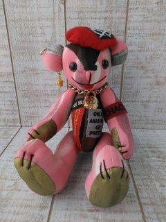 【B-type】25th Special ANARCHY BEAR/PINK×BLACK(25cmテディベア)