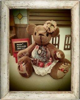 【B-type】Romantic flower***テディベア***