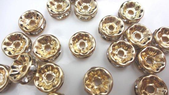 【サービス品 お一人様1点まで】平型 ロンデル 6mm(30個セット)/ゴールド、ブロンズ、マット系のワケアリで…