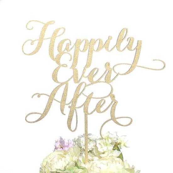 ケーキトッパー【Happily Ever After/Emily】