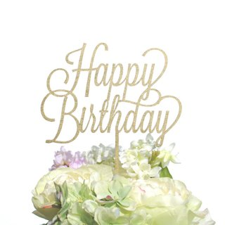 ケーキトッパー<br>【Happy Birthday/POP】
