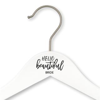ウェディングハンガー<br>【HELLO beautiful BRIDE】