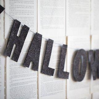 ハロウィンガーランド<br>【Happy Halloween】