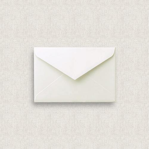 カード型招待状セット(箔押無し)<br>【Flower garden / Muguet】