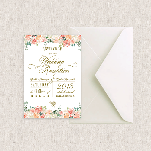 カード型 招待状