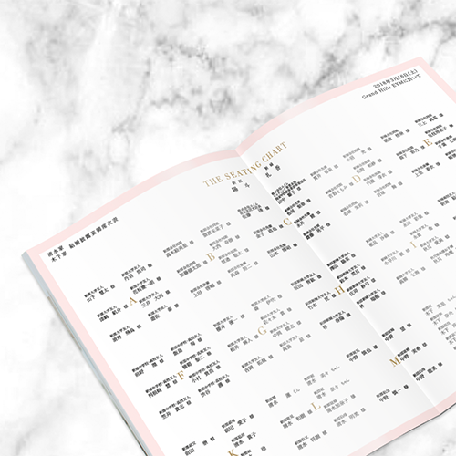 プロフィールブック<br>【Peaches&Cream/Muguet】