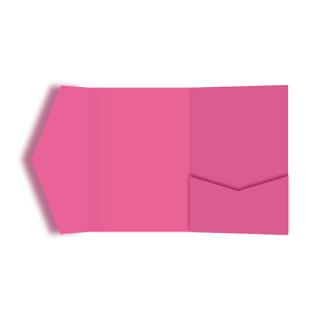 ポケットフォルダー<br>【ベリーピンク】