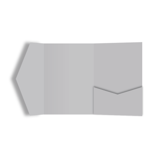 ポケットフォルダー<br>【ライトグレー】