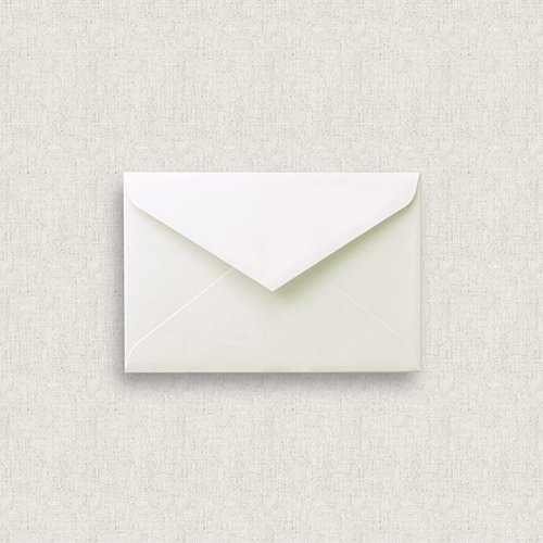 カード型招待状セット<br>【Blue flower】
