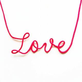 フォトプロップス<br>【赤い糸/Love calligraphy】