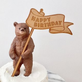 Birthdayケーキトッパー<br>【フラッグ】