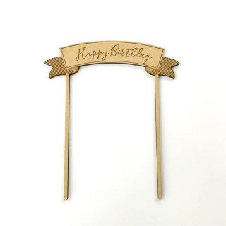 Birthdayケーキトッパー【アーチ】