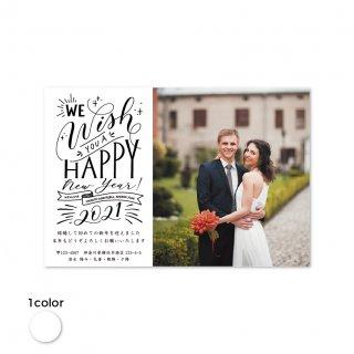 年賀状・結婚報告はがき<br>【 Cheerful 】