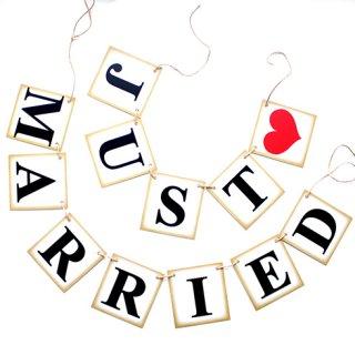 ガーランド<br>【JUST MARRIED/Vintage】