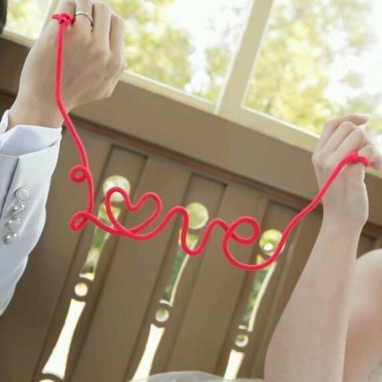 フォトプロップス\u003cbr\u003e【赤い糸/Love】