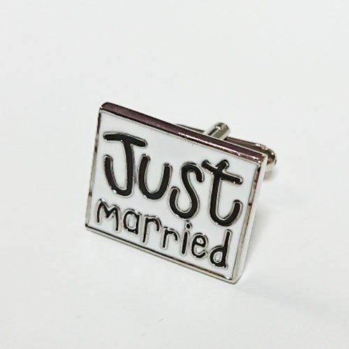 【結婚式 カフス / JUST MARRIED!】