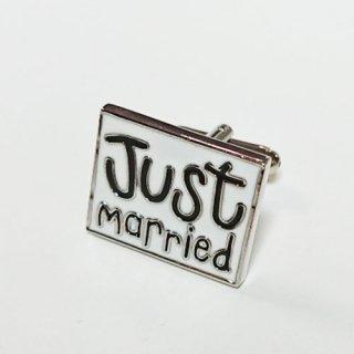 ブライダルアクセサリー<br>【結婚式 カフス / JUST MARRIED!】