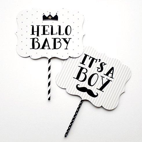 フォトプロップス 【Baby Crown】