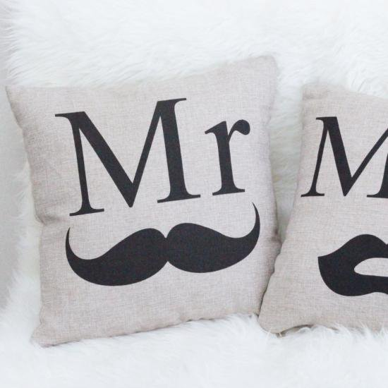 Mr & Mrs クッション