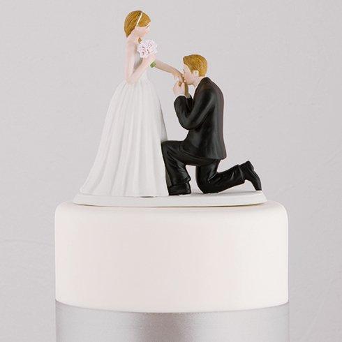 ケーキトッパー<br>【プロポーズ/Weddingstar】