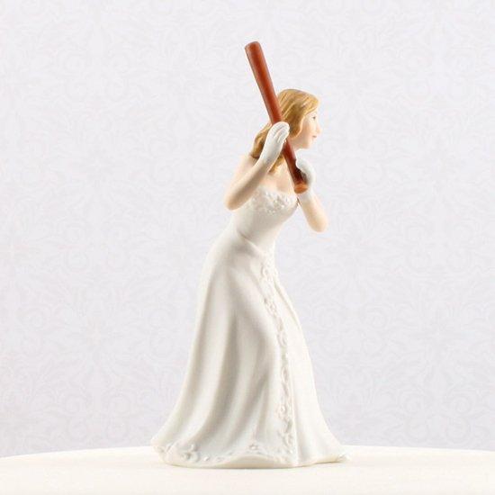 ケーキトッパー<br>【Baseballファン/Weddingstar】