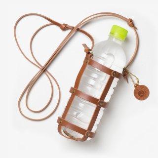ナチュラルな革のボトルホルダー | DURAM ボトルホルダー 16003(B)