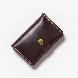 カードポケット付きのナチュラルな革のキーケース | DURAM カード&キー 16005