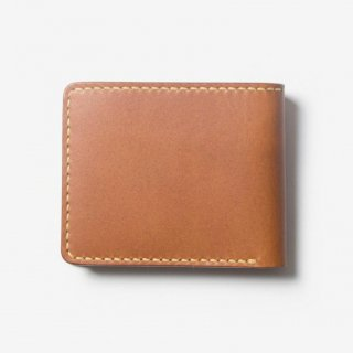 手縫いの小銭入れ付き二つ折り財布 | DURAM クラシック二つ折り財布 小銭入れ付 9002