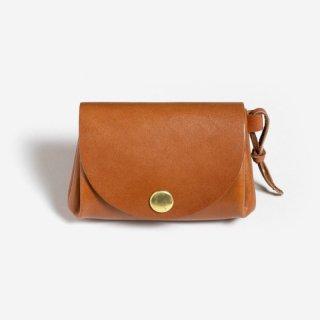 手のひらサイズのコンパクトな革財布 | DURAM コイン&カード 7008(B)