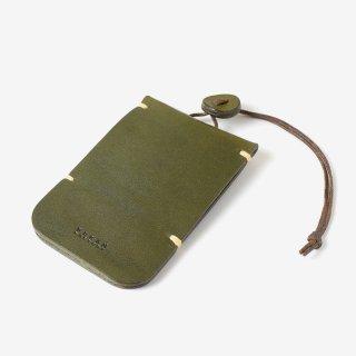 紐と革のボタンが個性的なキーケース | DURAM キーケース2 14031