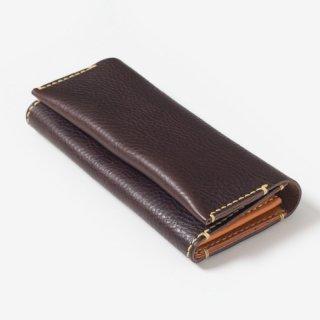 優しい質感の革を使ったハンドメイドの革財布 | mano 長財布 13001(D)