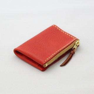 手縫いのステッチが印象的な革製パスケース&コインケース | mano パスケース&コインケース 13005