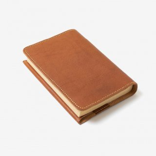 優しい手触りの革のブックカバー | DURAM 文庫本ブックカバー2 14009(C)