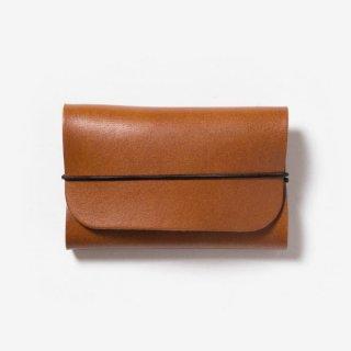 革の質感を活かしたシンプルな名刺入れ | DURAM バンドカードケース 14019(B)