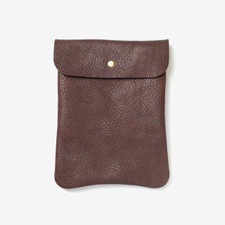 iPadやKindleの収納に丁度良いナチュラルな革のタブレットケース | DURAM フラップポーチD 14015