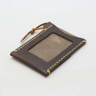 手縫いの革製パスケース | DURAM パスケースIII 14036