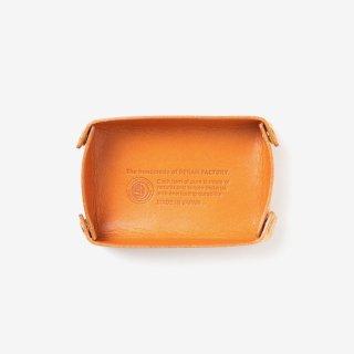 植物性タンニン鞣しの革を使った小さなレザートレイ | DURAM レザートレイ C 14033(B)