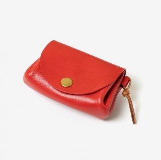 しなやかな革のコンパクトな革財布   DURAM コイン&カード サプル 13017(B)
