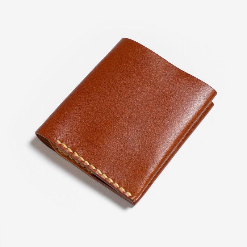 c6a09f3c48b8 コンパクトな二つ折り財布   ハンドメイド革小物のDuram Online Shop