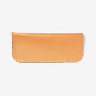 ナチュラルな革のスリムなメガネケース | Stico グラスケースフラット 15008