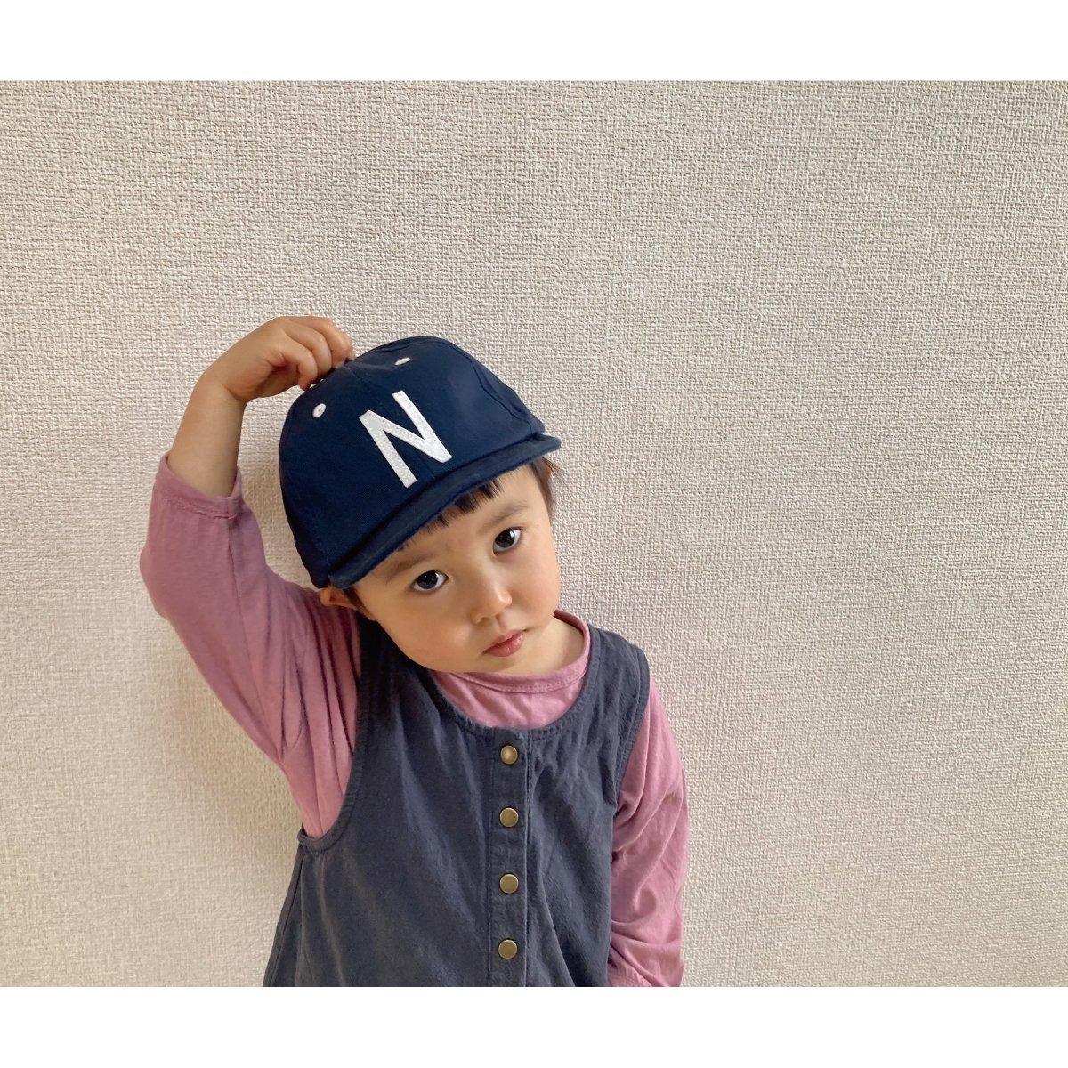【KIDS】Kids Sim Logo Cap 詳細画像34