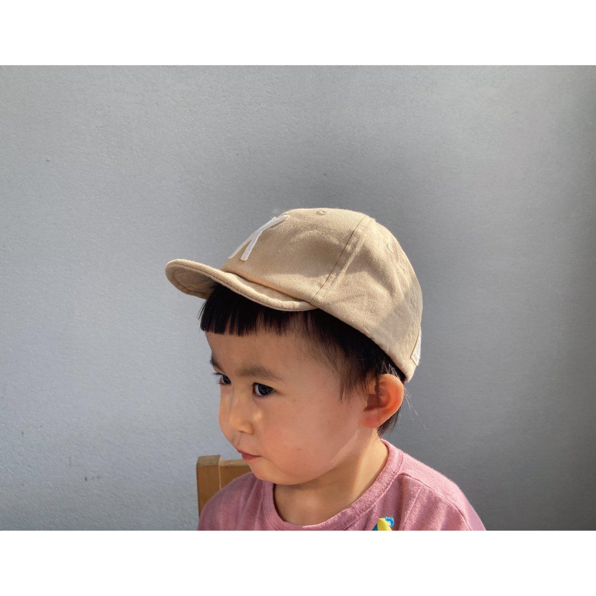 【KIDS】Kids Sim Logo Cap 詳細画像37