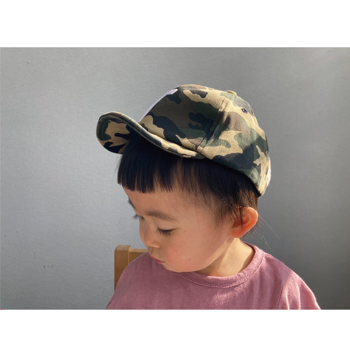【KIDS】Kids Sim Logo Cap 詳細画像42