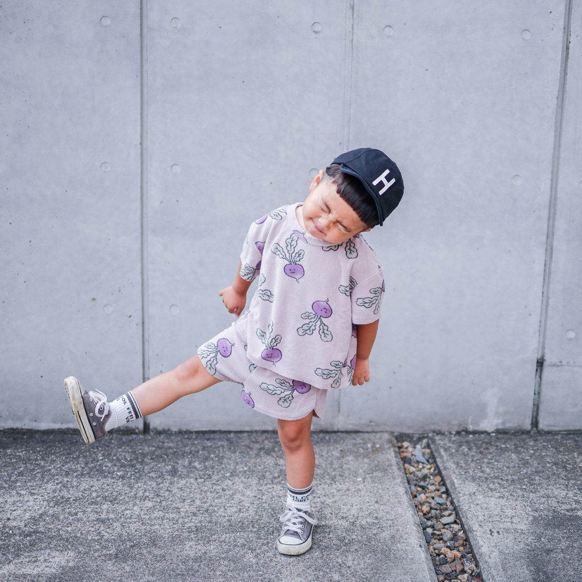 【KIDS】Kids Sim Logo Cap 詳細画像45