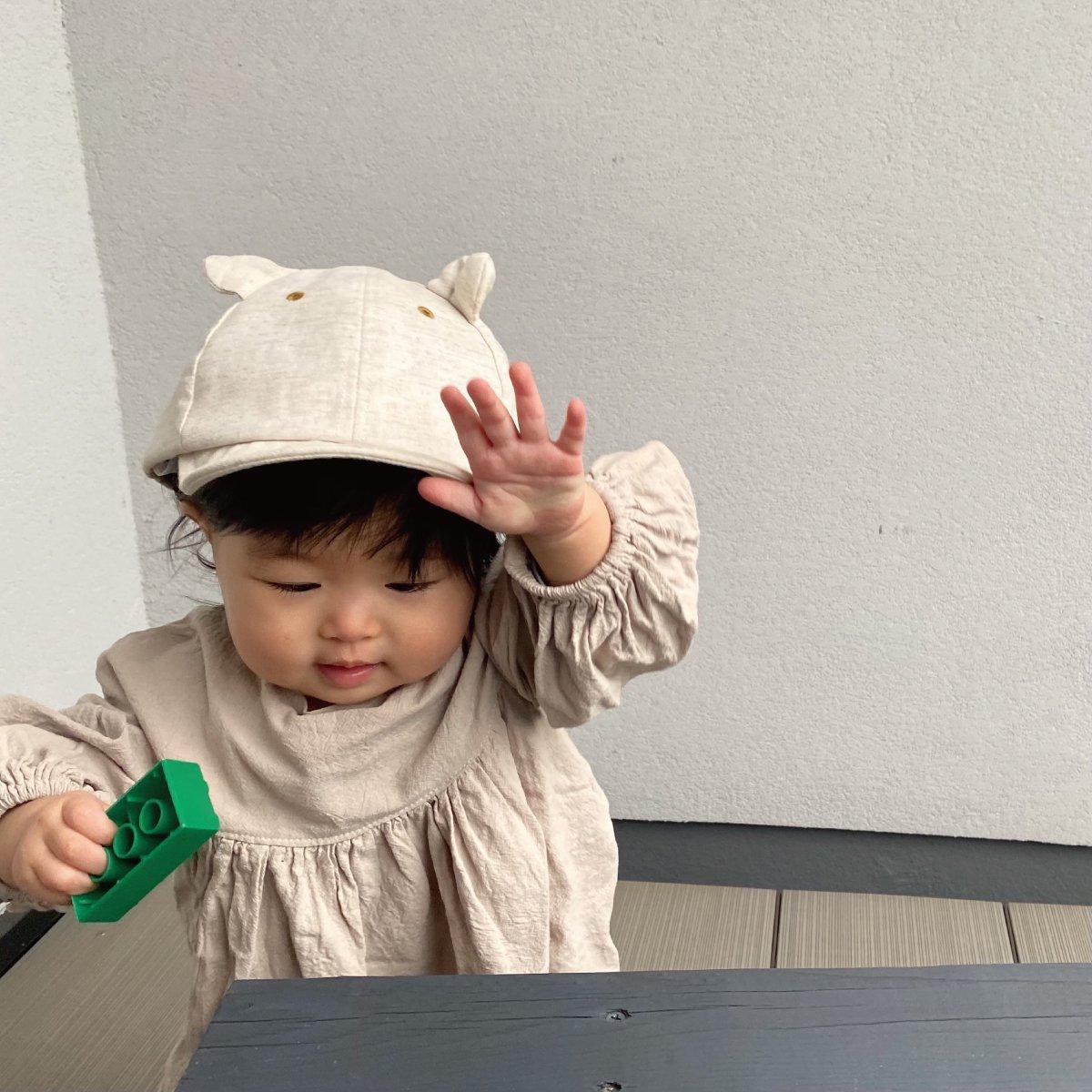 【BABY】Little Bear Cap 詳細画像12