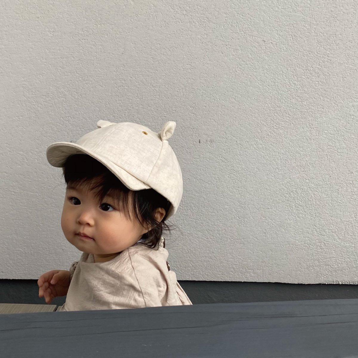 【BABY】Little Bear Cap 詳細画像13