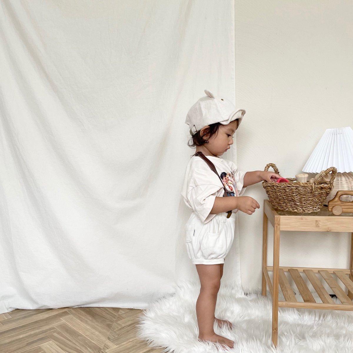 【KIDS】Little Bear Cap 詳細画像14
