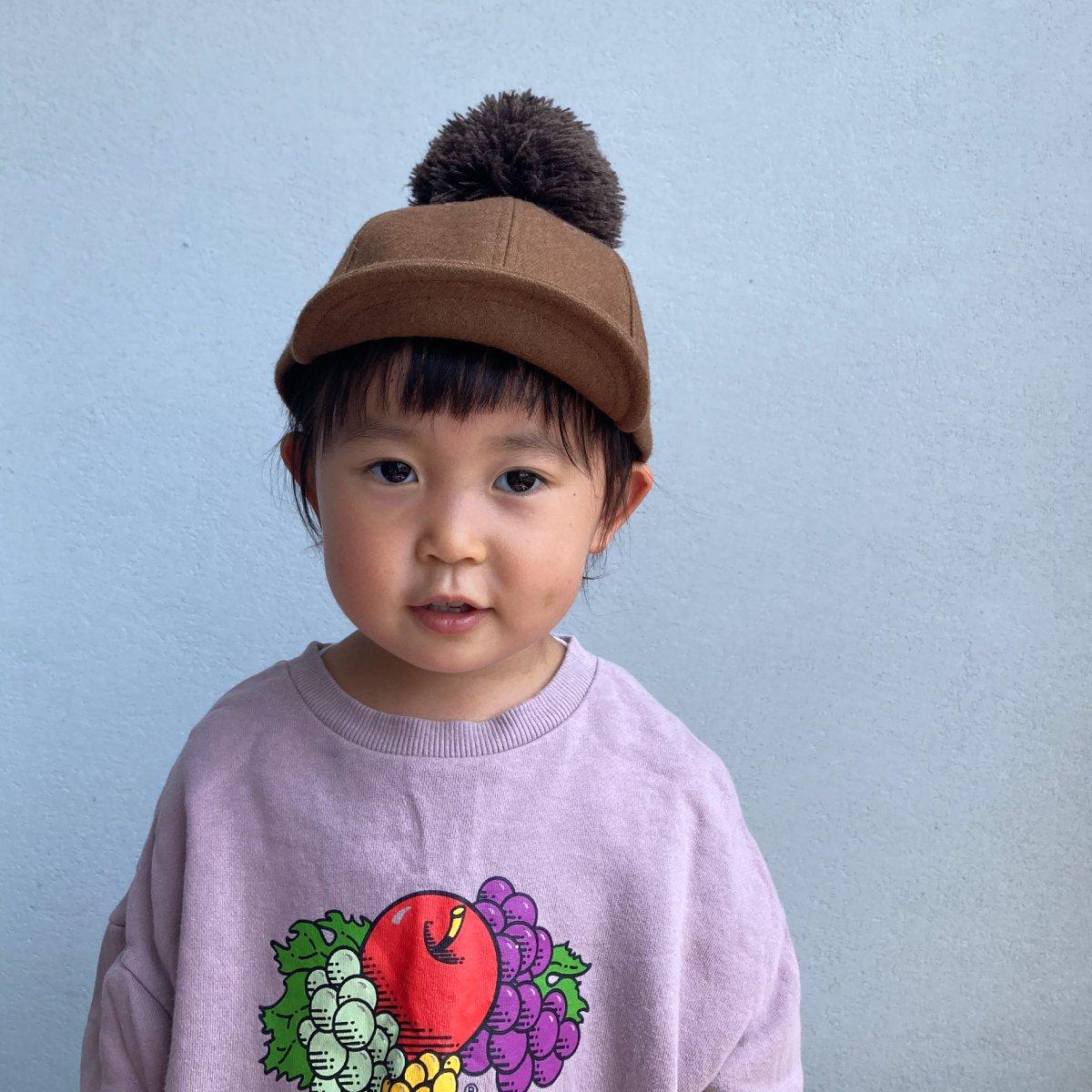 【KIDS】Wool Pom Cap 2 詳細画像12