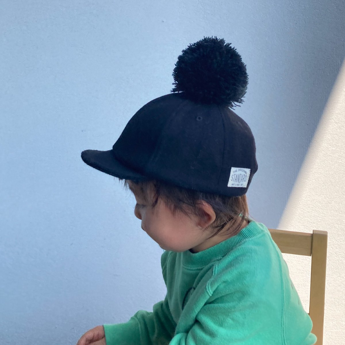 【KIDS】Wool Pom Cap 2 詳細画像8